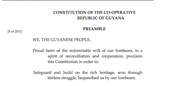 'We, the Guyanese people' and our future